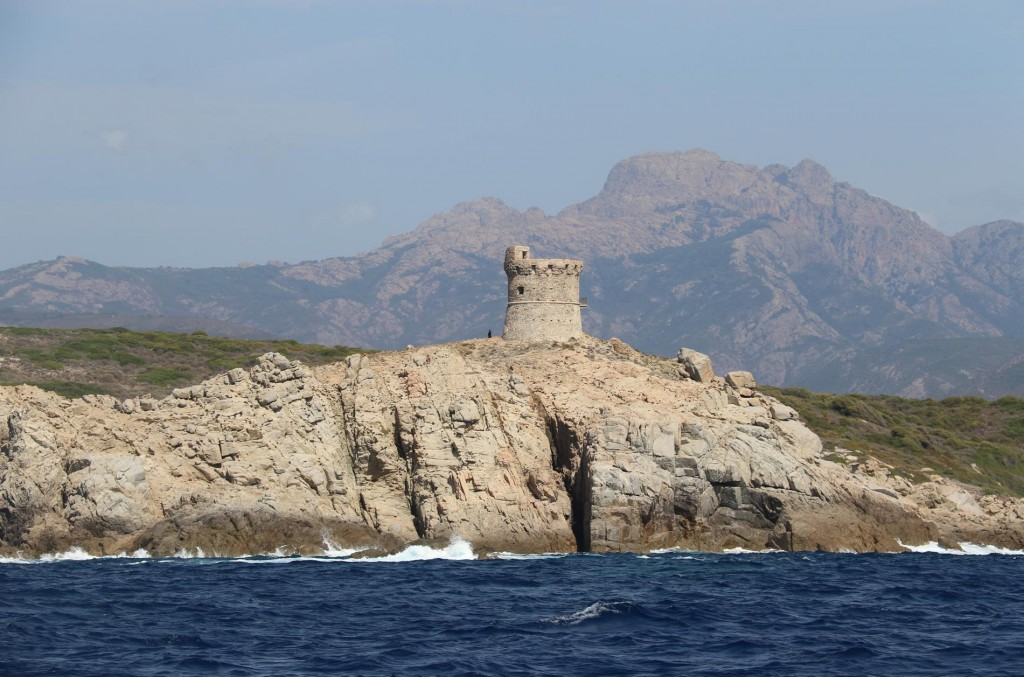 The tower on Punta d'Ormigna