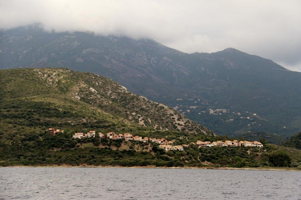 Holiday villas north of the town of Saint Florent