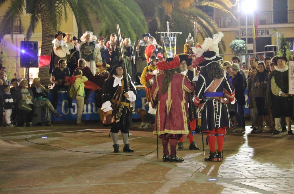 Azzurro is the Spanish capital of the island and the occasion was to do with the Spanish invasion