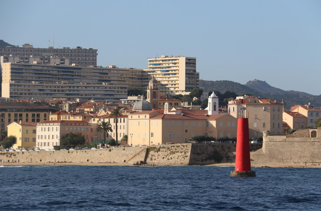 Ajaccio is the capital city of Corsica and also is the birthplace of Napoleon Bonaparte