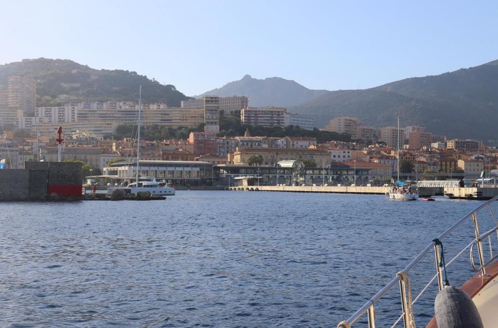 We enter the Vieux Port Marina