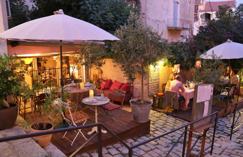 Calvi has many quaint local restaurants
