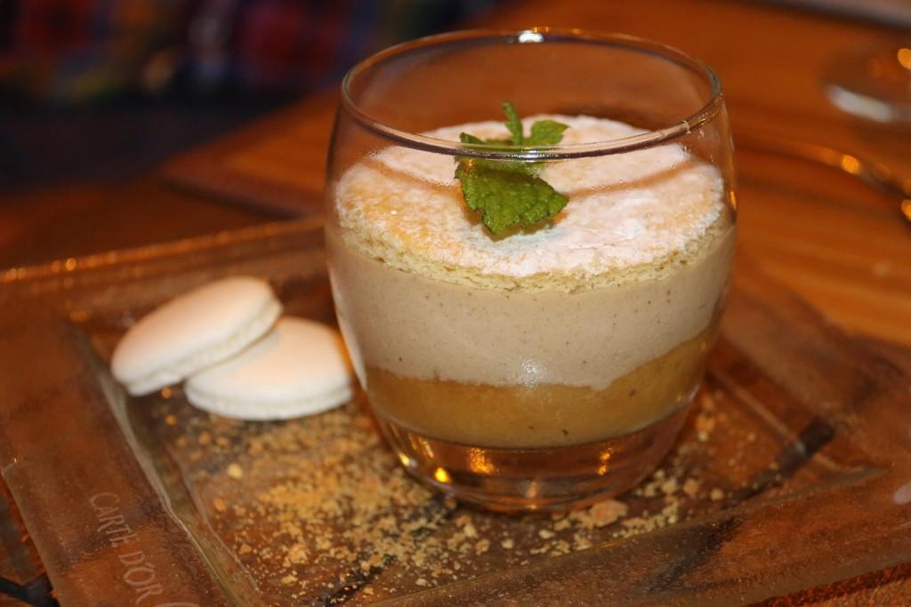 Tiramasu for dessert
