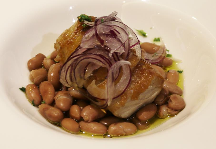 Superb Tuna with beans