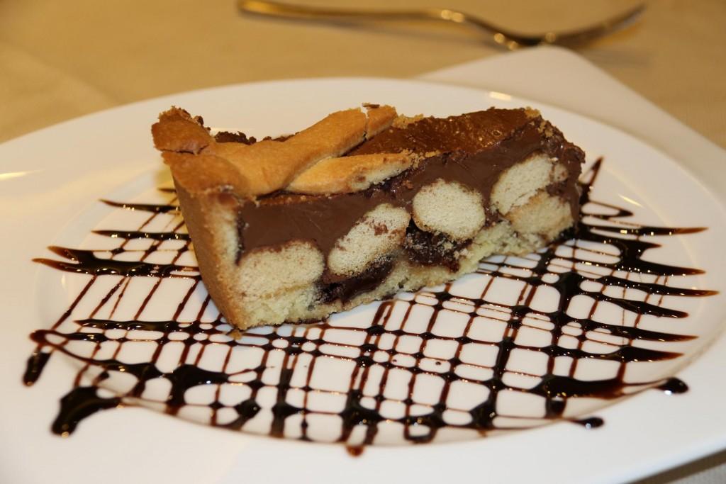 Followed by a delightful dessert