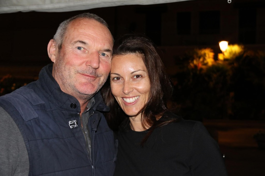 Peter & Lydia from Brisbane who were sitting at the next table came and joined us for a after dinner drink on the Tangaroa