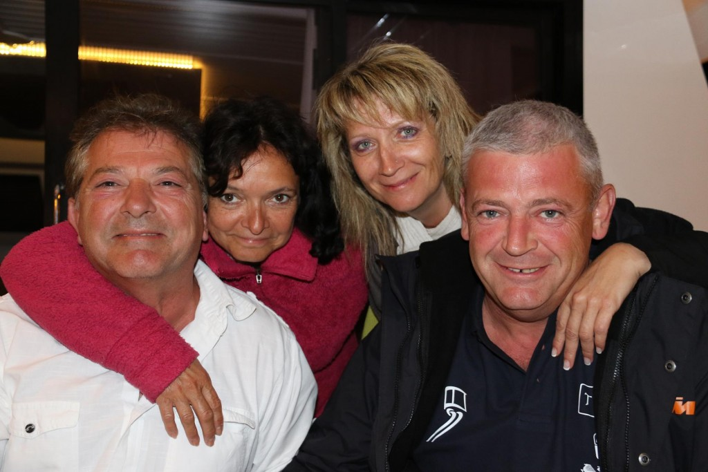 Our new friends from France -  Claude, Cathy, Veronique and Patrice