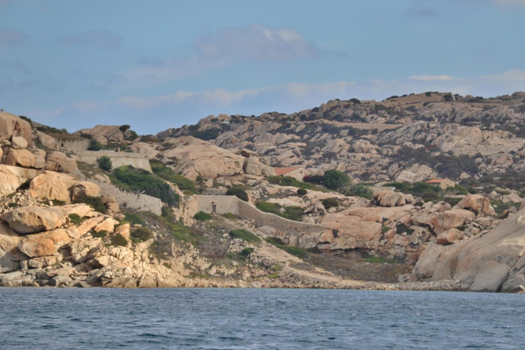 We set off from Palau and head back to the La Maddalena Archipelago