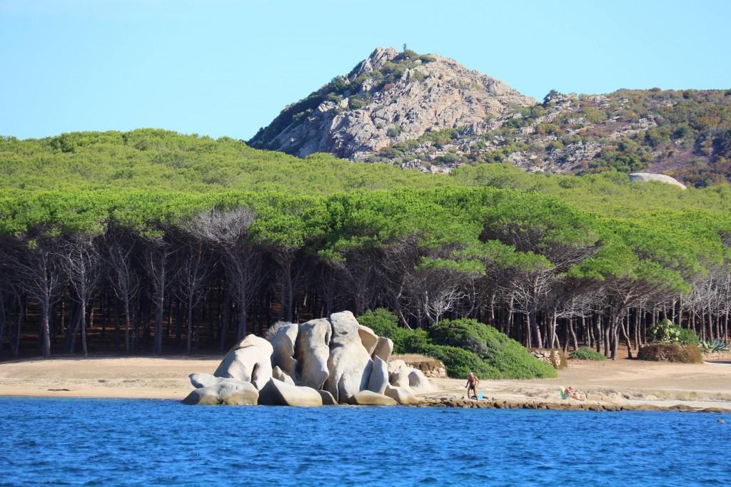 From Isola Caprera we crossed over to mainland Sardinia