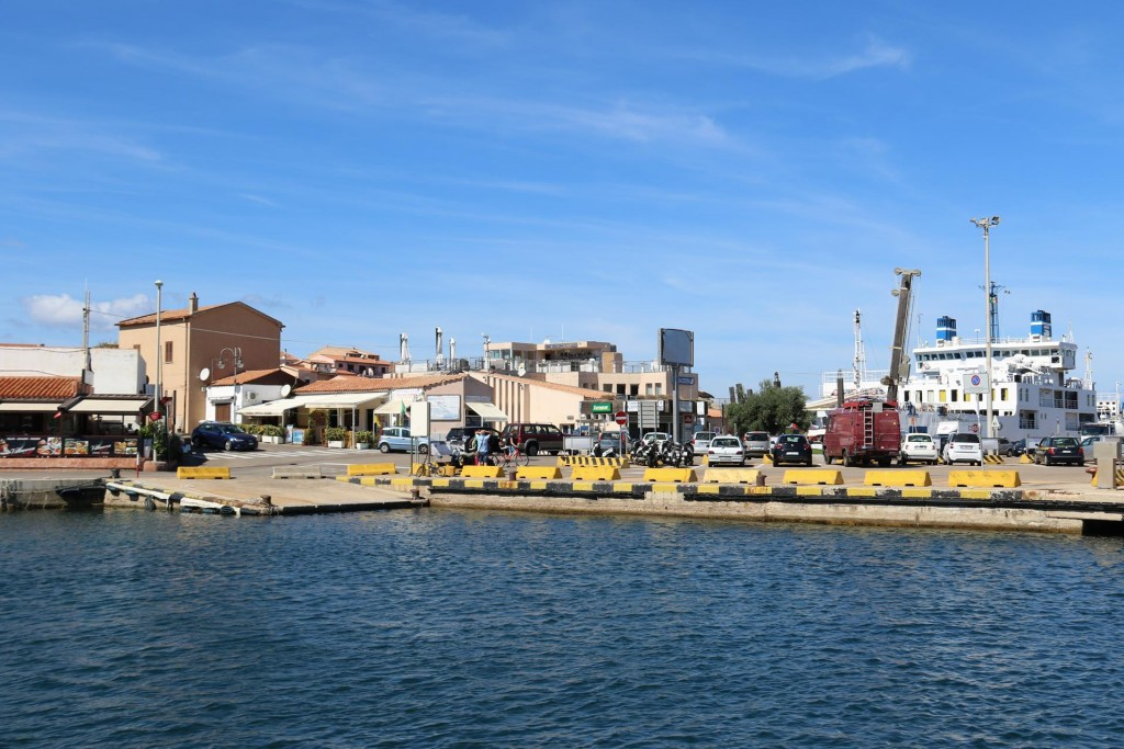 Palau is the port on mainland Sardinia that has regular ferry services to and from the La Maddalena Archipeligo