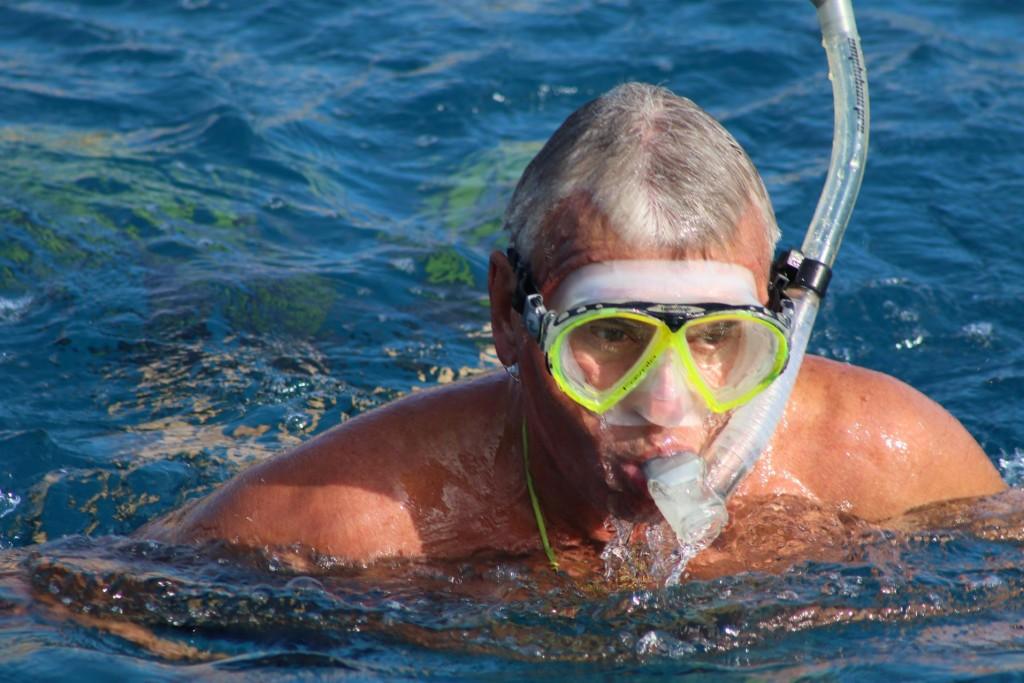 Ric swimming !!