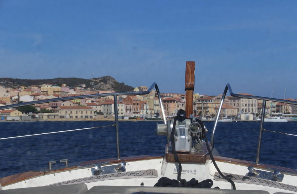 We return to La Maddalena Port as strong winds were forcasted for the evening and overnight