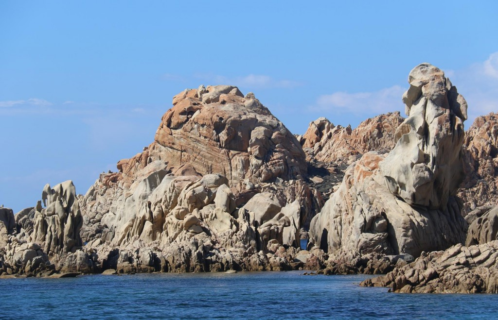The rugged beauty and the sheltered conditions of this bay make it almost impossible to find a spot to anchor in during high season