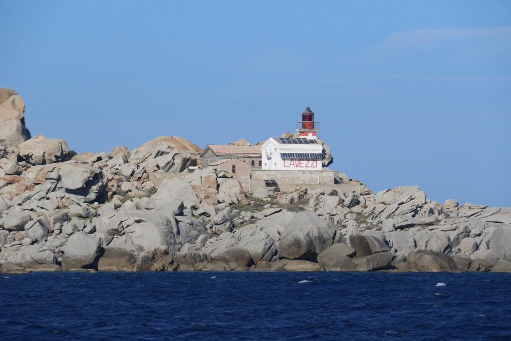 Once again we pass Lavezzi Island on our way to Bonifacio which lies south of Corsica