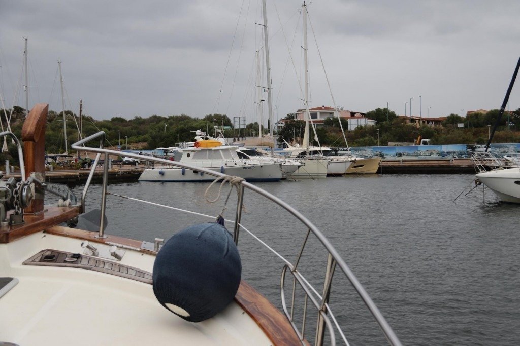 Our NZ friend John on his yacht Awatea is in the marina at the moment