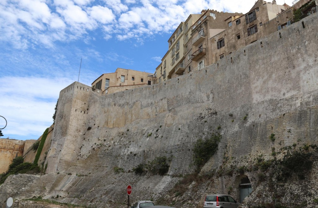 The well preserved fortification walls of the Citadel
