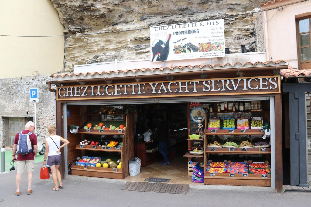A 5 star Grocery conveniently positioned near the large yacht berths