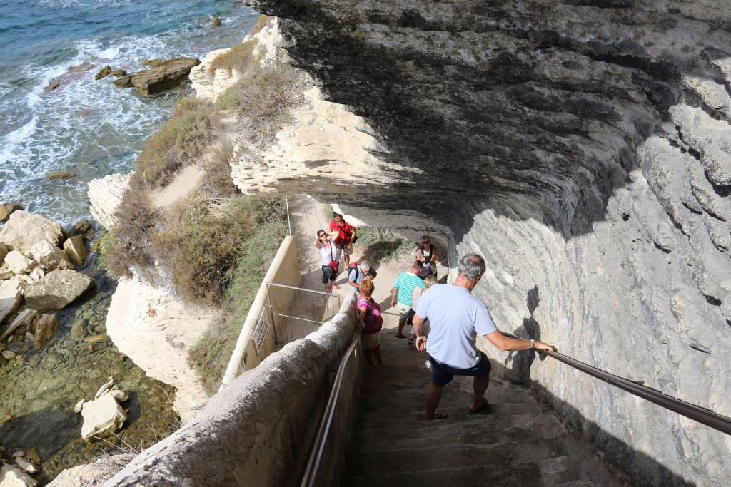 189 steps to the bottom