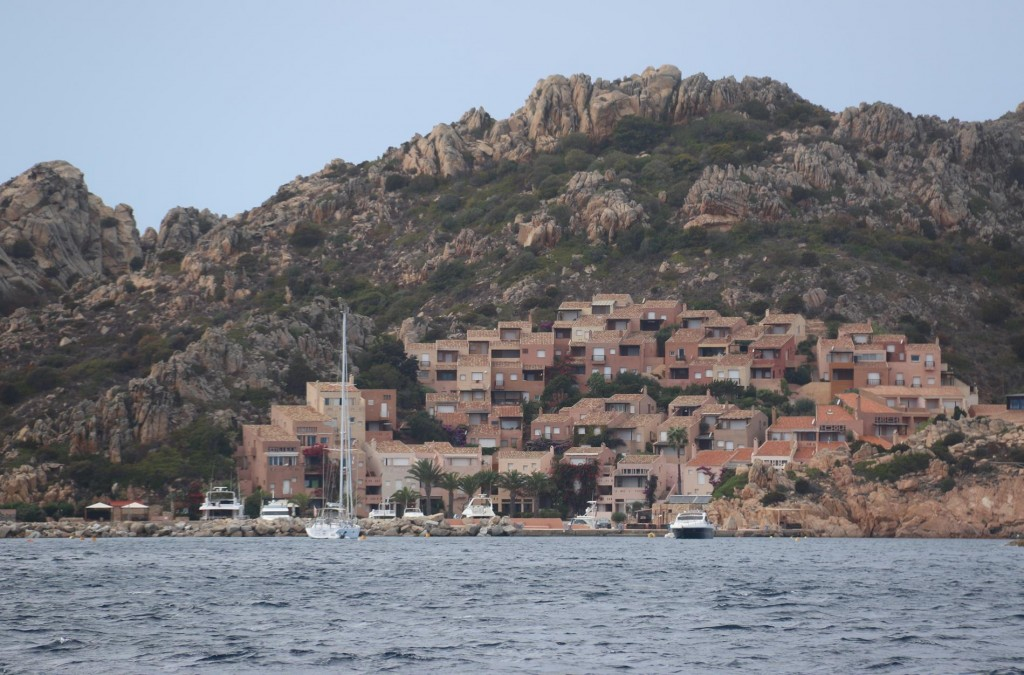 Porto Massimo is a sheltered mooring in the north east of La Maddalena Island