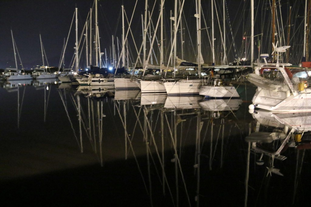 On our way back to the Tangaroa, the reflections of the boats in the marina were quite lovely, especially after days of windy and rainy weather