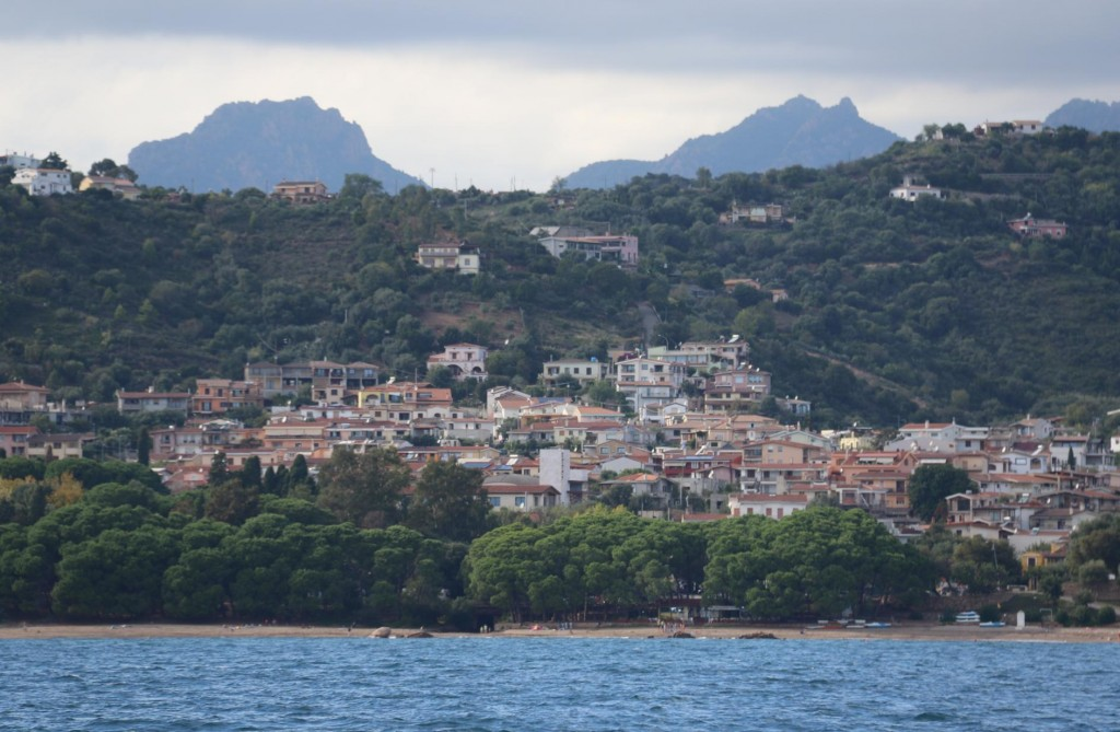 The picturesque town of Santa Maria Navarrese which is close to our destination of Arbatax