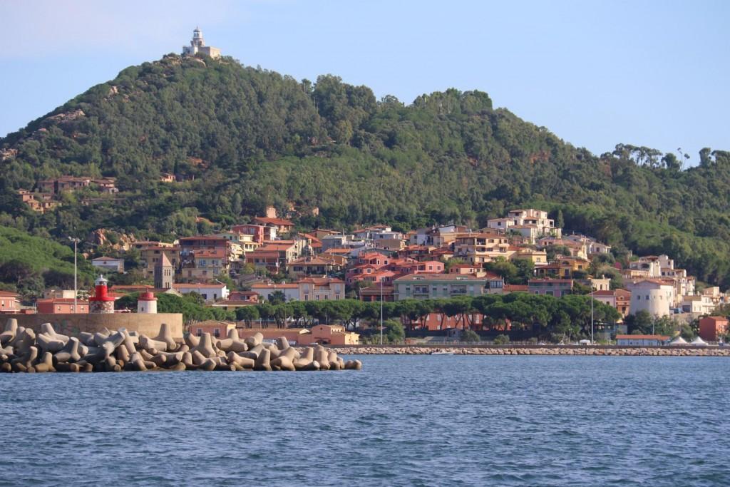 We approach the central east coast port of Arbatax