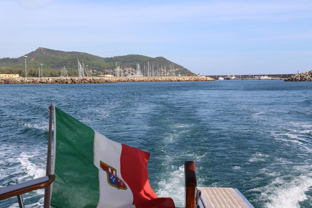 Once again we continue south down the east coast of Sardinia