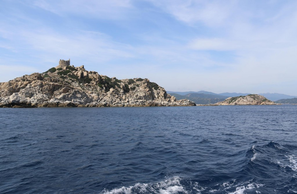 The island is situated in the protected marine area of Capo Carbonara