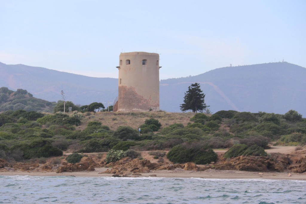 One of the many lookouts to be found vitually on most significant points on the coast of Sardinia