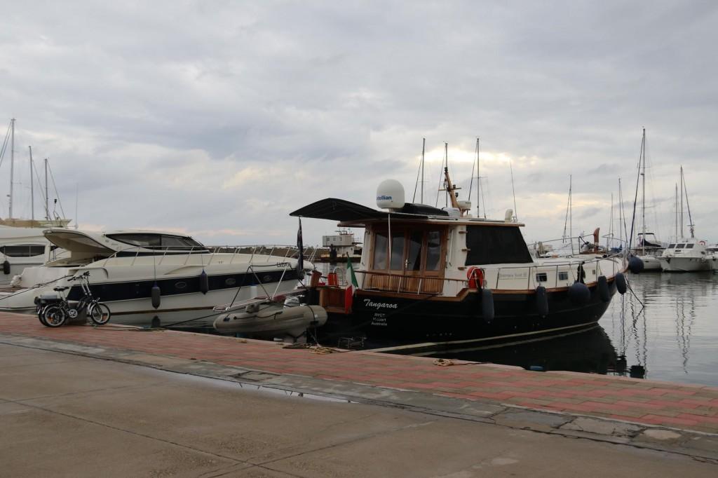 The Tangaroa in Marina Di Capitana