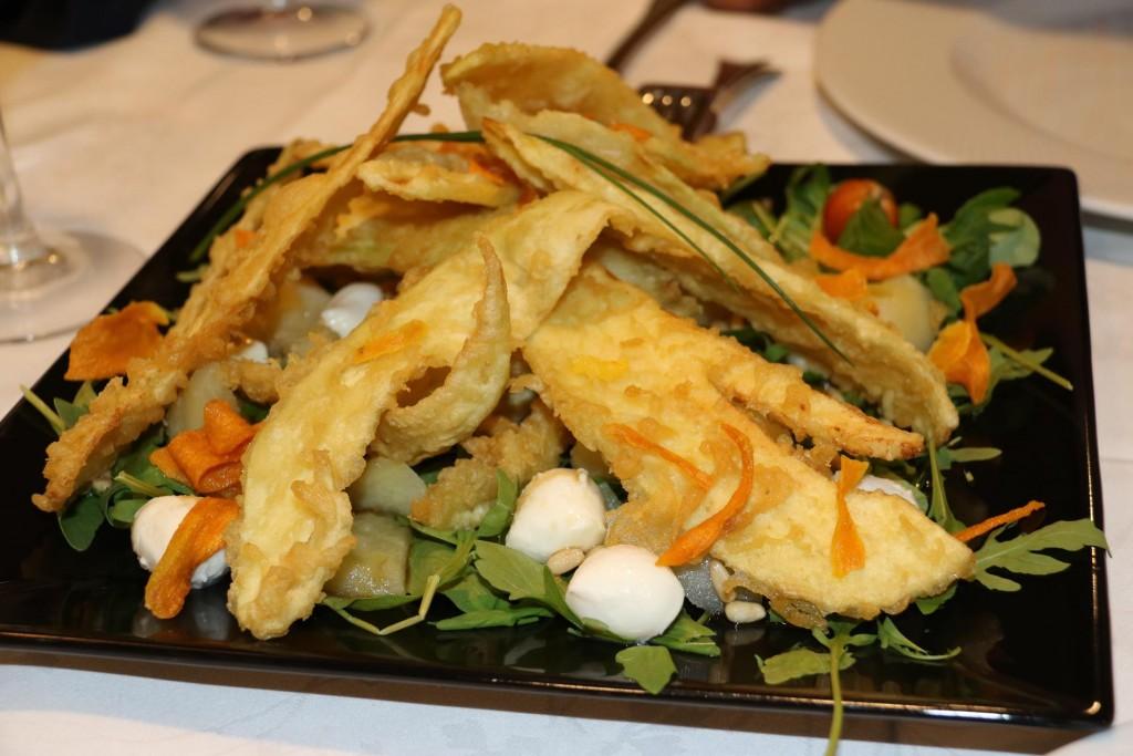 A fabulous tempura fish dish for starters to share