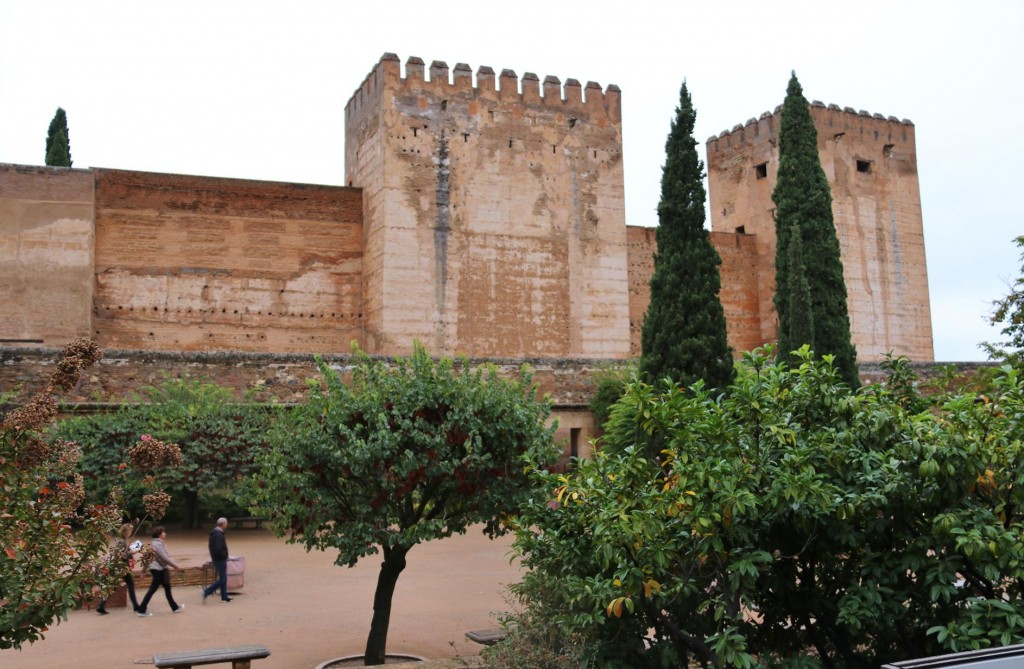 Torre Del Homenaje also known as 'The Keep' is one of the oldest towers in the old citadel, Alcazaba