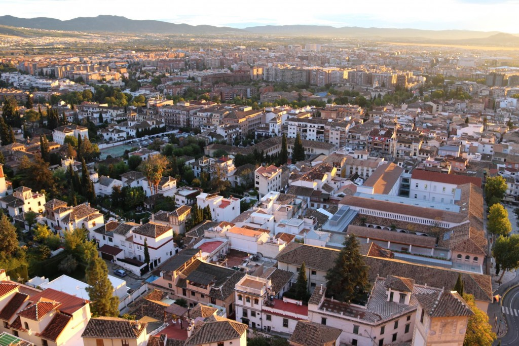 We also had outstanding views over Granada from our private balcony!!