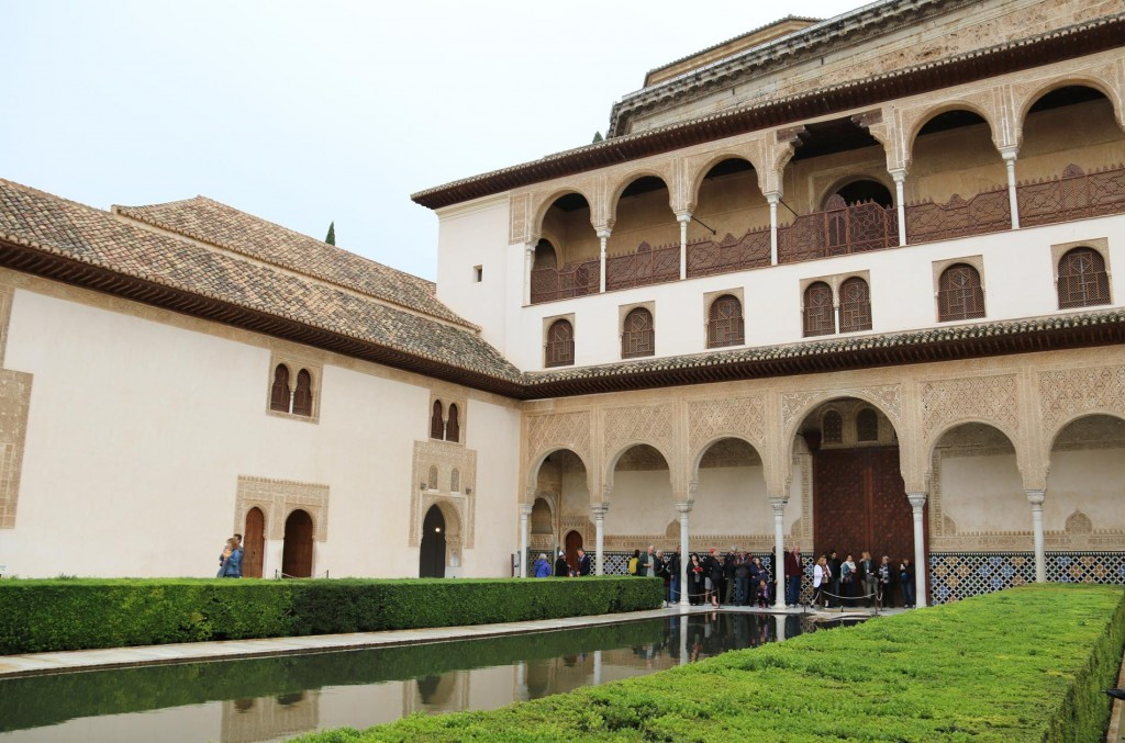 The stunning courtyard of the Comares Palace