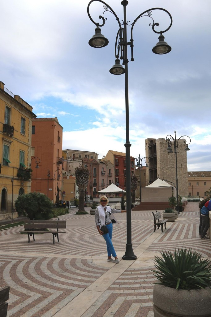 In the high season summer months all the squares in town would be busy with visitors and many tourists