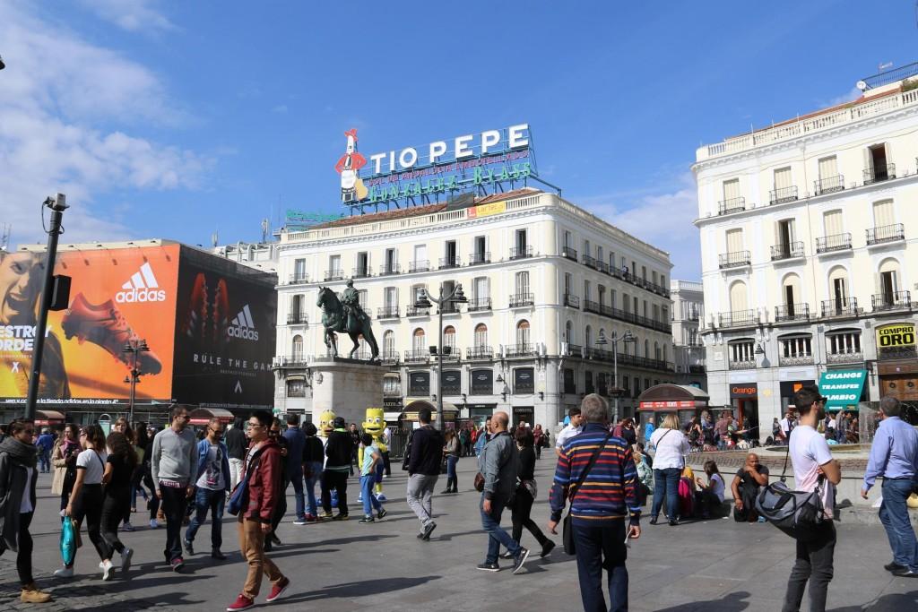 Puerta del Sol - the heart of Madrid