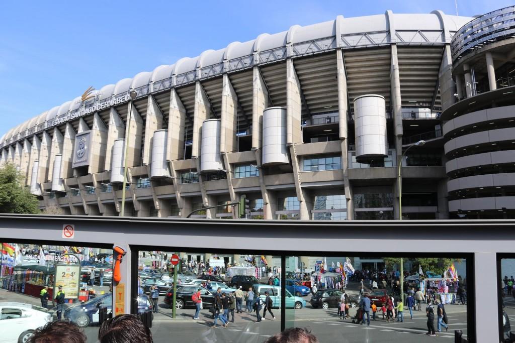 Estadio Santiago Bernabeu the home to Real Madrid CF