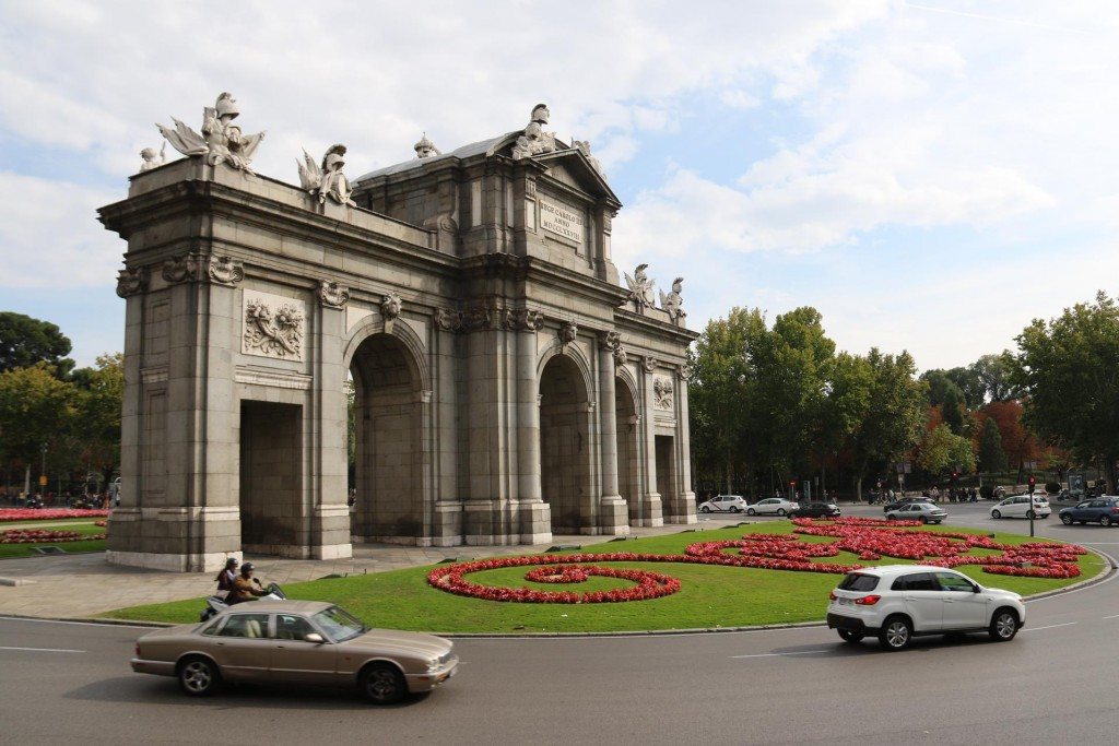 Puerta de Alcala, the old gateway to the city