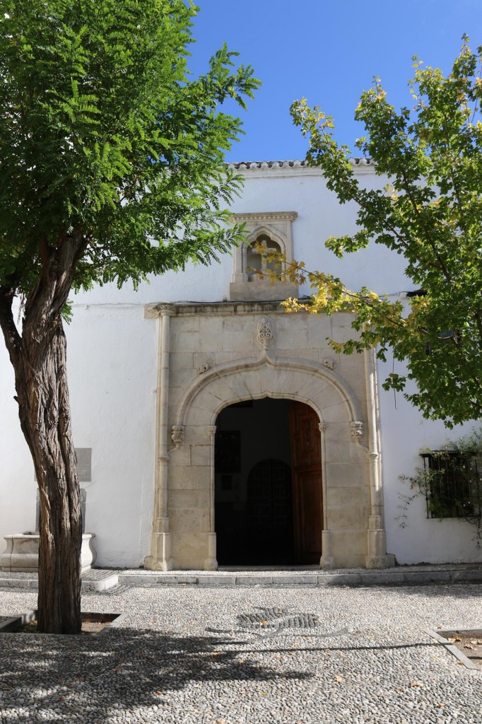 One of the less imposing churches of the area