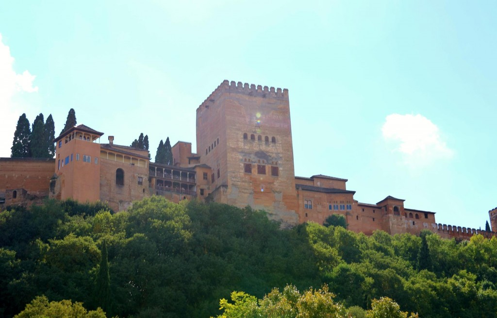 Once we arrived at the Alhambra it was a good opportunity to leave the train and return to our hotel
