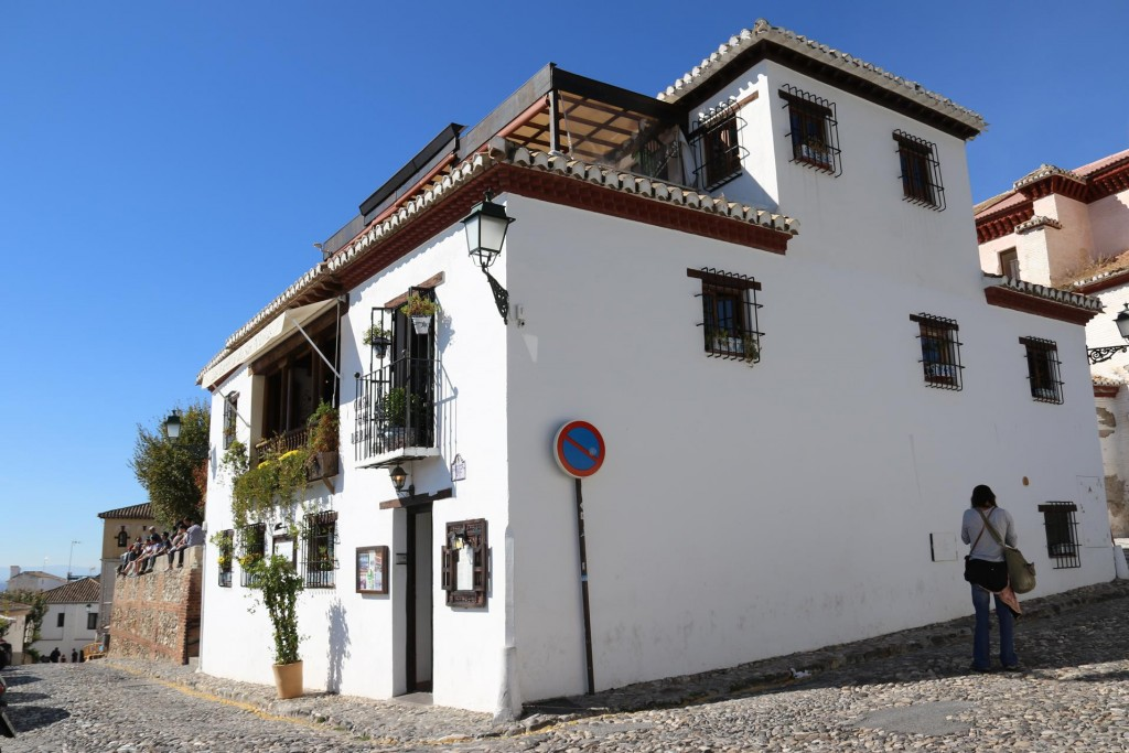 "We arrive back to the ""Estrellas de San Nicholas "" restaurant where we dined the previous evening"