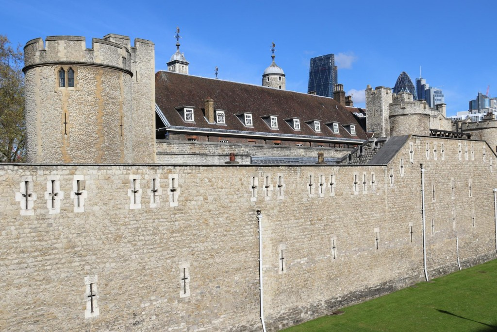 The Tower of London is one of the most visited famous sights of the area