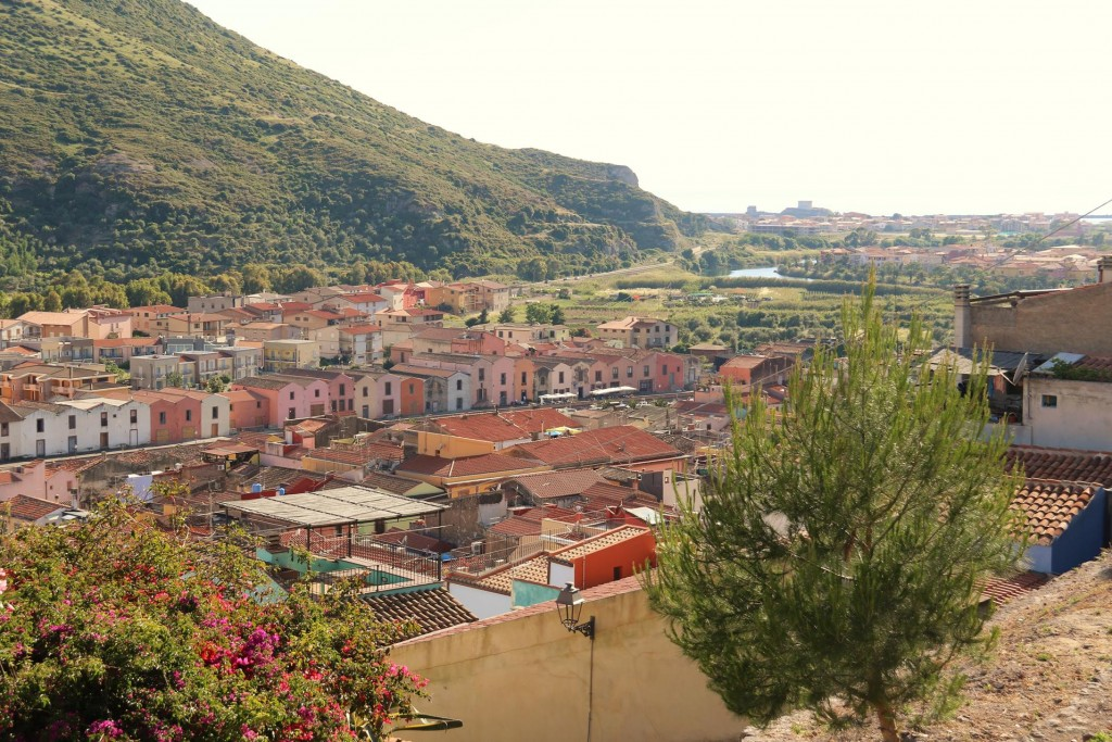 A lovely view of the town from the Festa