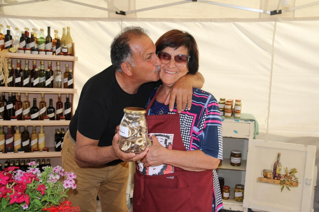 We bought several jars and bottles of Franca and Alberto's delicious products