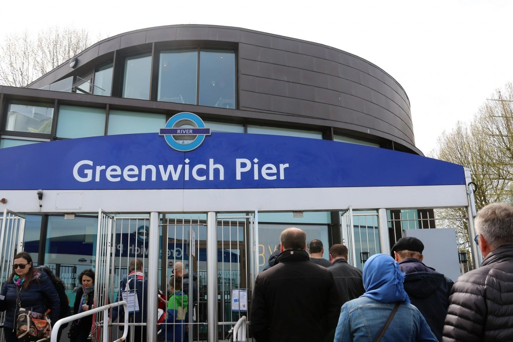 Our first trip to Greenwich