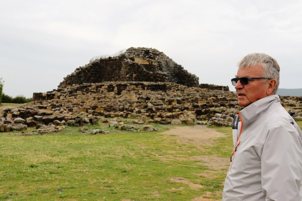 The Nuraghe Su Nuraxi dates back to about 3500 years ago