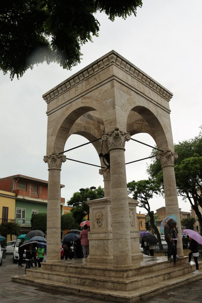 We arrive in Oristano which is situated on the west coast of Sardinia