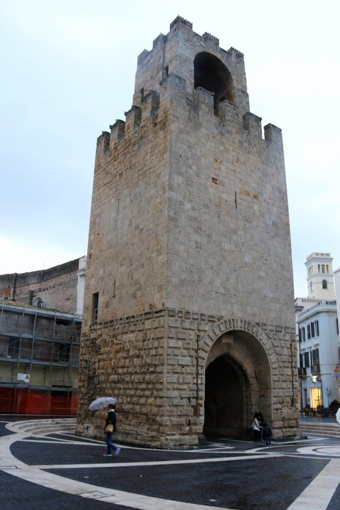 We also pass the watchtower in the main square