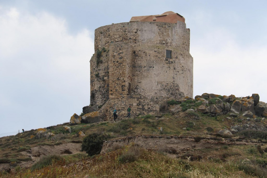 On the point overlooking the water is a late 16th century   watchtower called Torre di San Giovanni