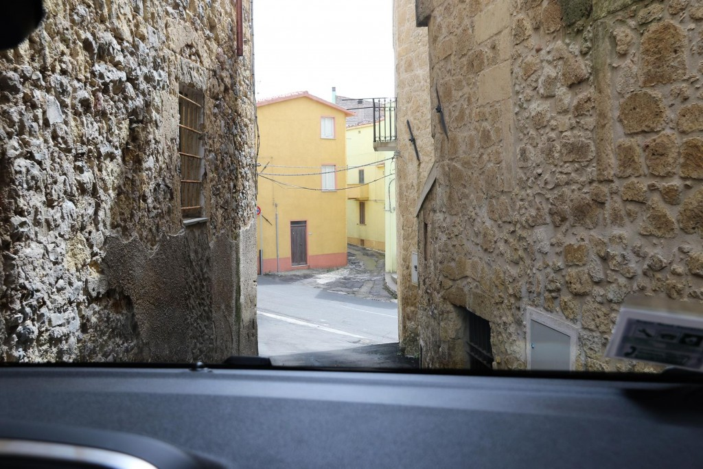 Not to mention the narrow streets!!!